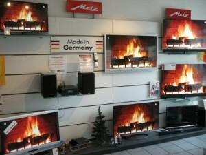 Ladengeschäft zu Weihnachtezeit