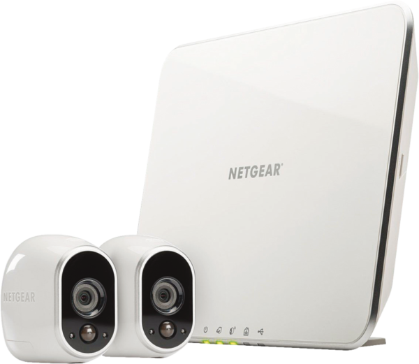 VMS3230-100EUS Arlo Smart Home 2 HD-Kamera-Sicherheitssystem Weiss